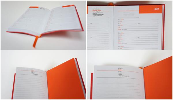 Lediberg Kalender 2015 Adressbuch und Notizseite