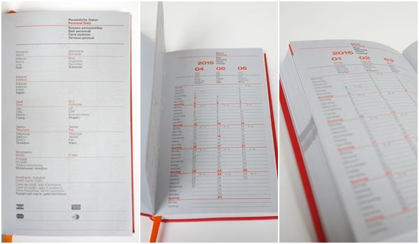 Lediberg Kalender 2015 erste Seite Jahresueberblicke