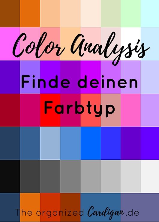 Organize your Closet Color Analysis Finde deinen Farbtyp by TOC