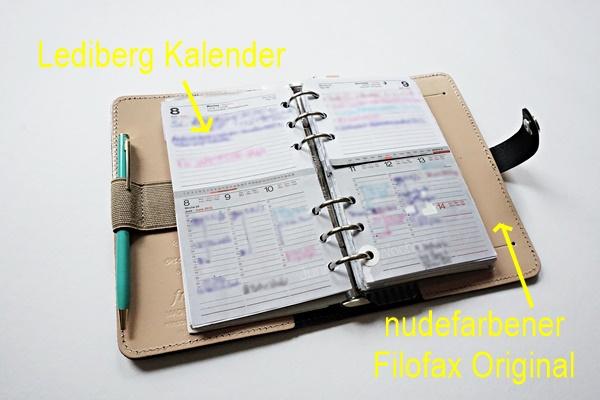 Lediberg Kalender im Filofax 2 by TOC