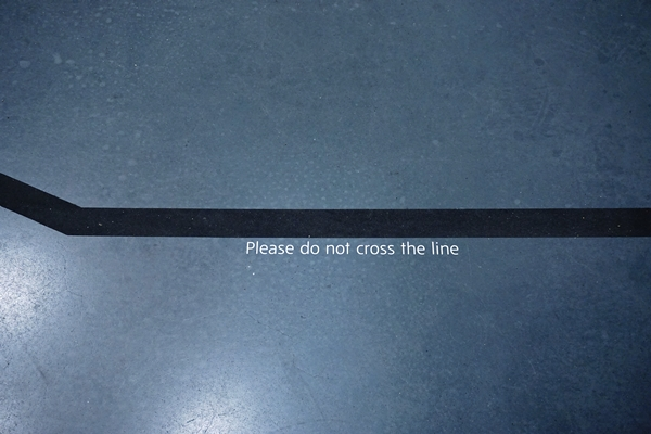 Do not cross the line by TOC