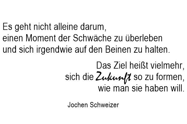 Zitat aus Der Perfekte Augeblick von Jochen Schweizer by TOC