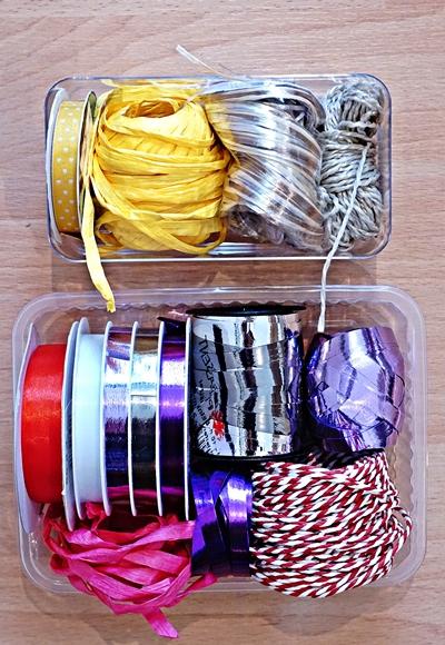 Aufgeräumt in der Schublade Geschenkband by TOC