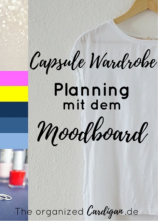 Capsule Wardrobe Planning with a Moodboard by TOC