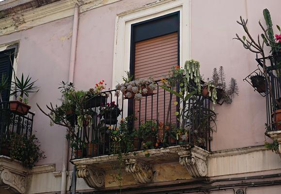 Balkon auf Sizilien by TOC
