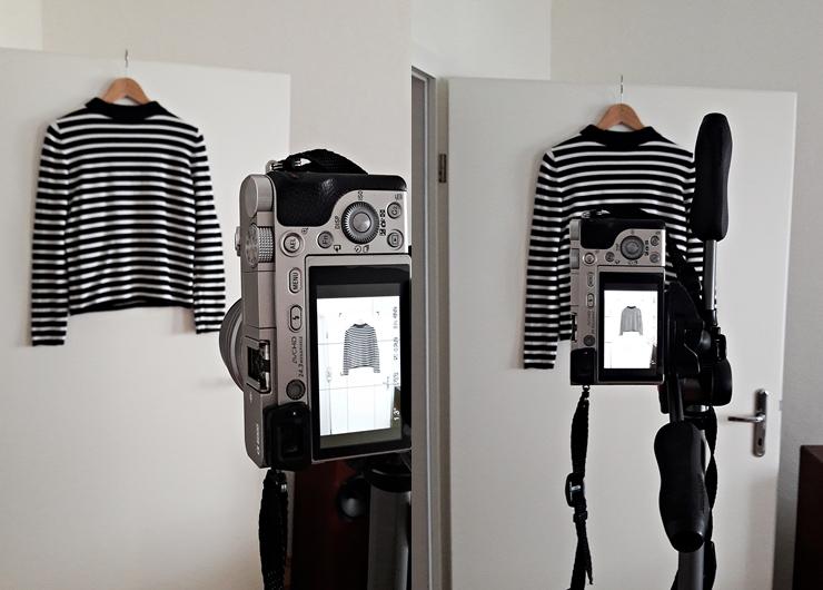 Wie ich den Hintergrund bei Bildern ohne Photoshop entferne - Halte immer den gleichen Abstand zwischen Fotoapparat und Fotoobjekt