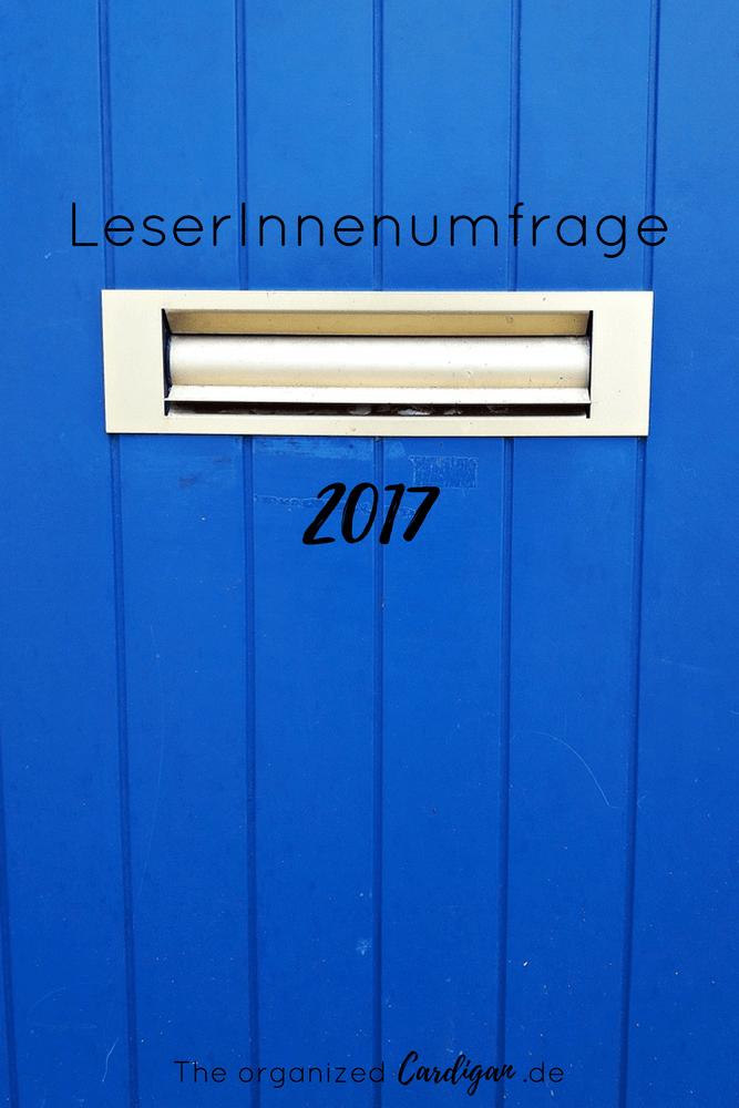 LeserInnenumfrage 2017