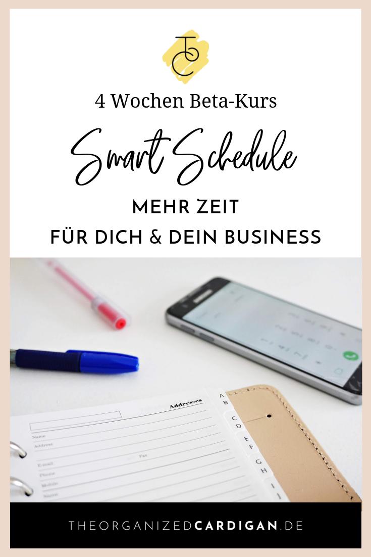 Smart Schedule - mehr Zeit für dich und dein Business
